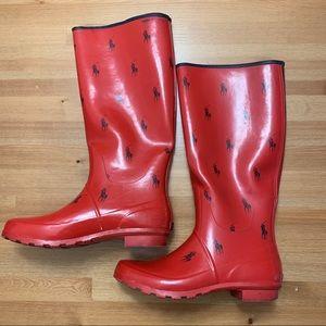 Ralph Lauren Polo Rain Boots